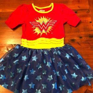 Girls Wonder Woman costume Sz 5T